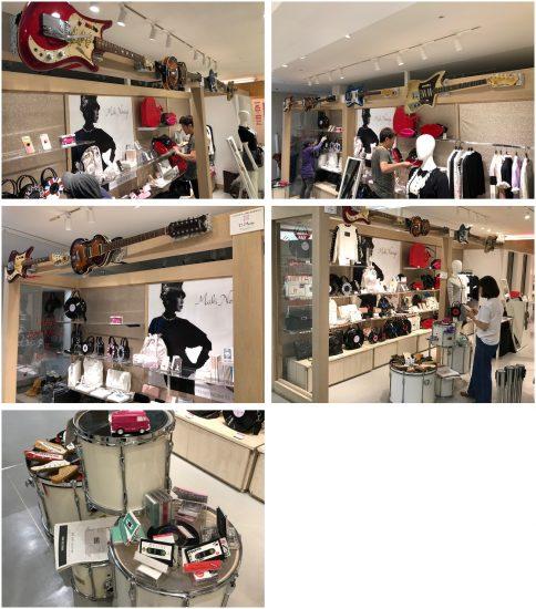 【現在楽器の買取を強化中です!】ラフォーレ原宿のポップアップショップ 「MAKI NOMIYA BY SINZ」へのギターの展示